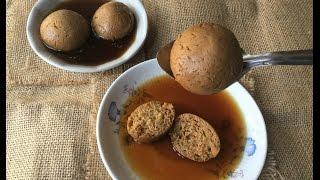 Nolen Gurer Rasgulla (Date Palm Jaggery Scented Bengali Rasgulla) | Winter Special | Indian Dessert