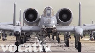 The U.S. Air Force Stages An Elephant Walk