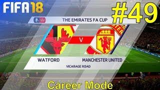 FIFA 18 - Manchester United Career Mode #49: vs. Watford