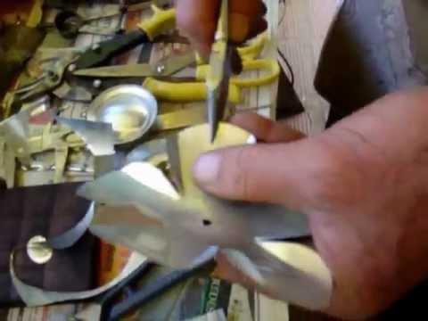 Artesanato Flor lata de aluminio reciclada BuieArte myspace buiearte