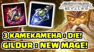 KAMEKAMEHA! 3 Hit Masuk Neraka! Tank Rasa Mage! - Arena of Valor
