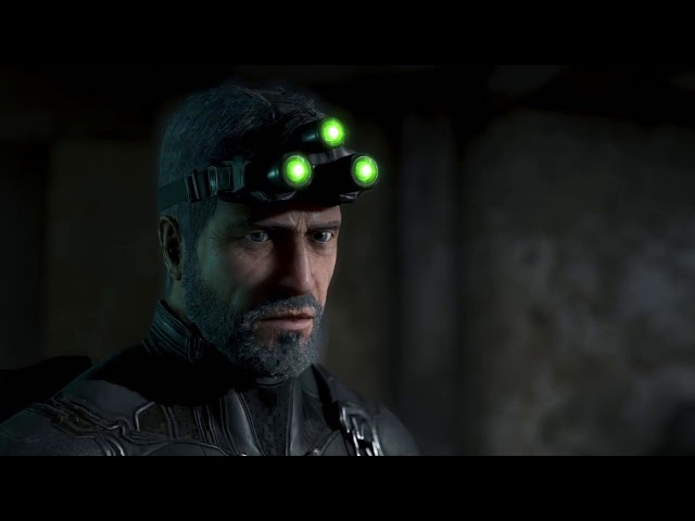 Sam Fisher's farewell to Snake