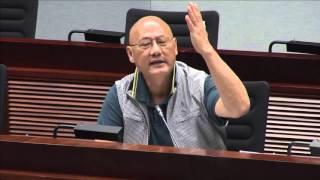 2016年4月25日:大嚿讉責政府對待露宿者不如環保斗!