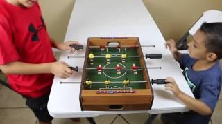 TABLETOP FOOSBALL!! GOOOOOOOOOOOLLLLLLLLL!!