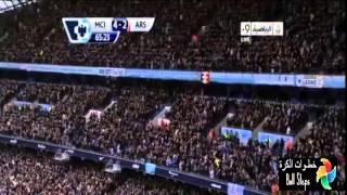 اهداف مباراة مانشستر سيتي وارسنال 6-3 [14_12_2013][الدوري الانجليزي] تعليق فارس عوض HD