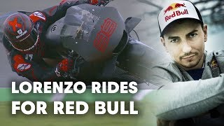 Jorge Lorenzo Talks Joining Red Bull And The Repsol Honda Team | MotoGP 2019
