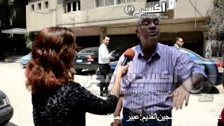 أشجع رجل فى مصر .... يتحدى سيساوى أمام الكاميرا السيسى متخلف عقليا وفاشل