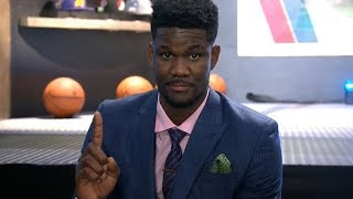 Deandre Ayton Interview | 2018 NBA Draft
