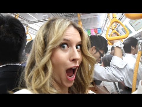 Will You Get GROPED on Tokyo Subway? -- Tokyo, Japan | Bucket List Adventures | How 2 Travelers