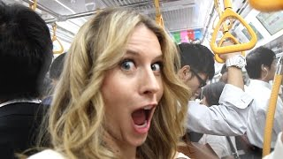 Will You Get GROPED on Tokyo Subway? -- Tokyo, Japan