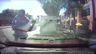 Meter maid from hell    Hollywood CA