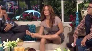 Sexy feet and legs - Galilea Montijo and Andrea Legarreta