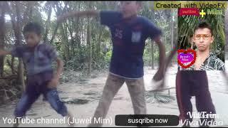 Bangla new funny video Dance car may music baza