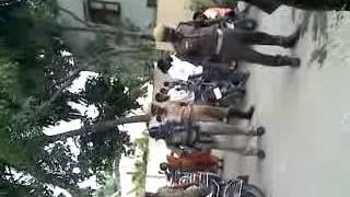 Awareness demo for fire accidents by vaniyambadi