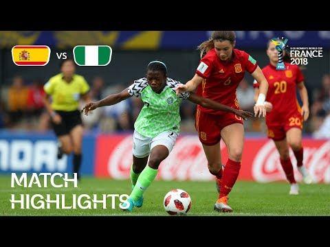 Xxx Mp4 Spain V Nigeria FIFA U 20 Women's World Cup France 2018 Match 26 3gp Sex