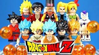 LEGO Dragon Ball Androids Saga & Legendary Super Saiyan Goku Vegeta Broly Unofficial Minifigures