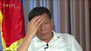 Duterte: Si Carandang talagang u***, pati si Morales