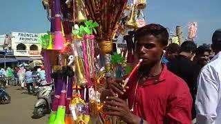 """Mere Rashke Qamar"" Song Puri Street Vendor Flute Short Version"
