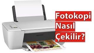 Önlü Arkalı Fotokopi Nasıl Çekilir (Renkli ve Siyah-Beyaz)