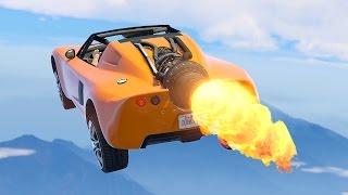 ULTIMATE $5,000,000 ROCKET CAR! (GTA 5 DLC)