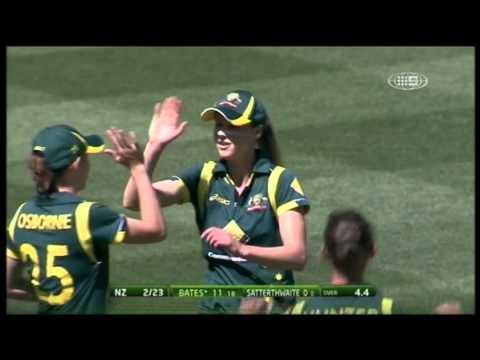 WT20 Australia vs New Zealand Game 5 - Highlights
