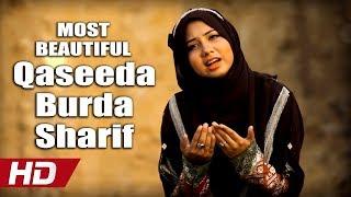 MOST BEAUTIFUL QASEEDA BURDA SHARIF - AQSA ABDUL HAQ - OFFICIAL HD VIDEO - HI-TECH ISLAMIC