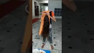 How to tie damala