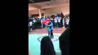 High Student Romantic Proposal