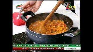 মুরগীর ভর্তা  Recipe by Meherun Nessa presented at ATN RANNA GHOR (every Saturday11:30 AM)
