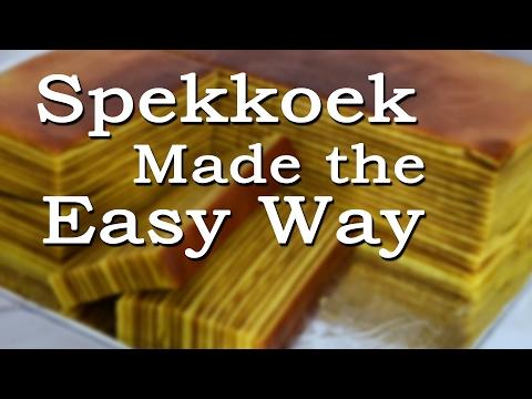 Spekkoek Made the Easy Way