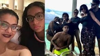 Kajol & her daughter's HOT pics from Maldives