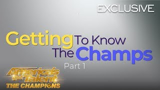 Getting To Know The AGT Champions! Part 1 - America