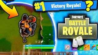 INSANE GAME OF FORTNITE BATTLE ROYALE!!! (Game Changing Bush Update)