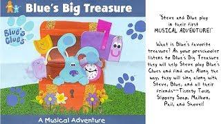 Blue's Clues - Blue's Big Treasure (1999) Full Album