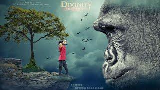 picsart scary manipulation editing, picsart,picsart best editing, gorilla manipulation editing,