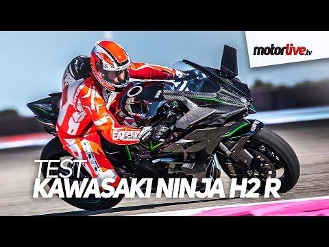 TEST KAWASAKI H2 R NINJA À 357 km h Record au Paul Ricard