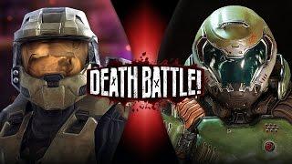 Master Chief VS Doomguy | DEATH BATTLE! | ScrewAttack!