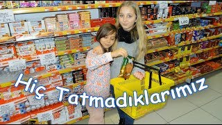 Abur Cubur Challenge - Hiç Tatmadıklarımız - Eğlenceli Çocuk Videosu - Funny Kids Videos