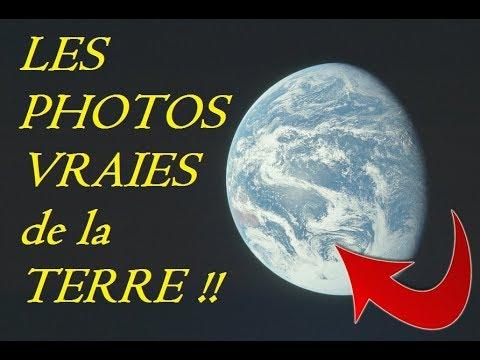 TERRE PLATE Compilation de vraies photos de la Terre