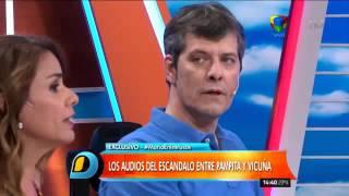 Jorge Rial mostró audios de Pampita y a Pergolini no le gustó nada