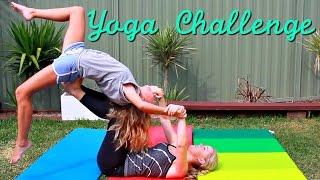The Yoga Challenge with My Sister | Ella Victoria