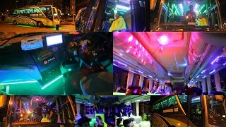 Keren dan Unik - Bus Pariwisata BBC Holiday   Klakson Telolet dan Lampu disco