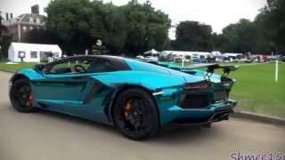 Lamborghini Aventador special color - لمبرجيني افينتادور لون مميز