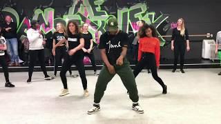 Wizkid - on Top Your Matter   Dance class video  Aron Norbert