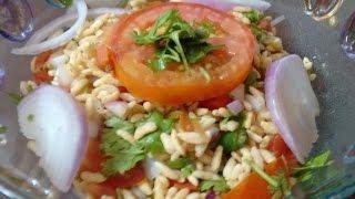 Jhal Muri/ Muri Mixture ( Puffed Rice Salad ) Recipe ( Perfect Snack !!)  Saminspire