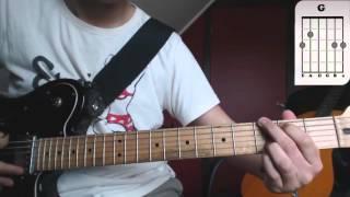 Como tocar Ella uso mi cabeza como un revolver (Soda Stereo)