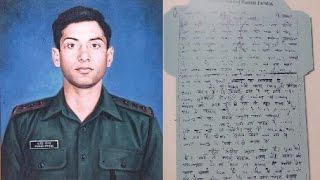 LoC se Last Letters- Captain Manoj Kumar Pandey