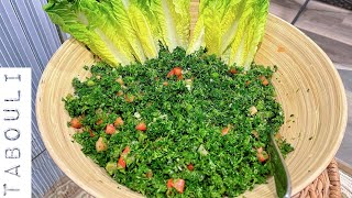 Best Authentic Lebanese Tabbouleh (tabouleh, tabouli): My Mother