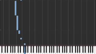 Seven Nation Army - White Stripes (Easy Piano Tutorial) in Synthesia (100% speed)