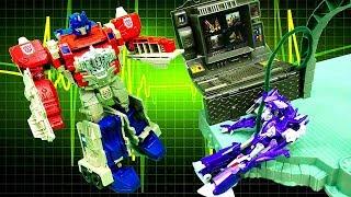 Игры для детей. Десептикон на Базе #Автоботы ! #Трансформеры Роботы #игрушки видео для мальчиков